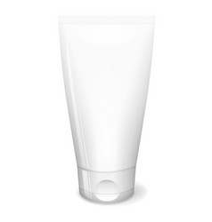 white tube cream vector image