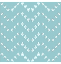 seamless sea pattern with hand wheels vector image vector image