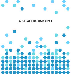 abstract background pattern with blue circle vector image