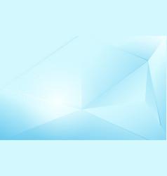 abstract blue polygonal modern futuristic concept vector image