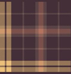 Autumn plaid pattern vector