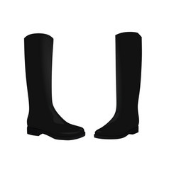 black women boots vector image