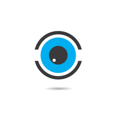 eye symbol design vector image