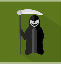 Grim reaper icon set of great flat icons design vector