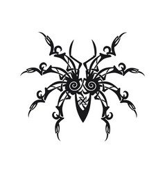 Ornament spider vector