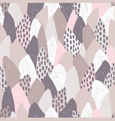 seamless pattern in trendy colors vector image
