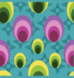 Simple geometrical shapes seamless pattern vector
