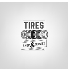 Tires Shop Logo-03 vector image