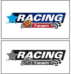 Racing Team vector image vector image