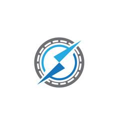 Compass logo template icon vector
