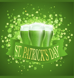 saint patricks day card vector image vector image