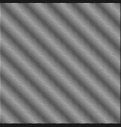 black and white dotted seamless background vector image
