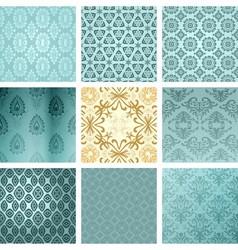 000 azulset vector image