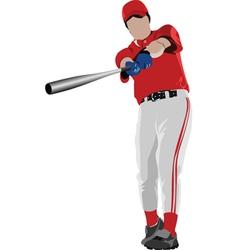 Baseball poster vector