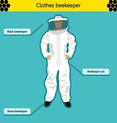 Beekeeper vector