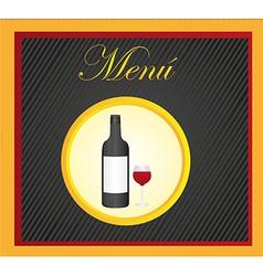 Carte restaurant desing vector