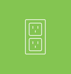 connections icon - simple element from ui vector image