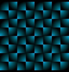 Creative square blue black gradient pattern vector