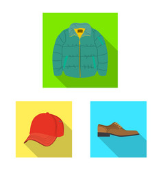 Design man and clothing symbol vector