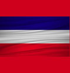 Los altos flag flag of los altos blowig in the vector