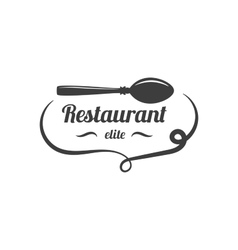 Restaurant Lable Food Service Logo vector