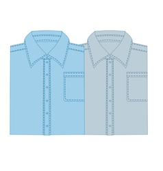 business shirt vector image vector image