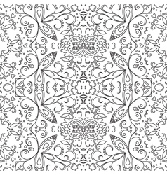 Abstract pattern contours vector image