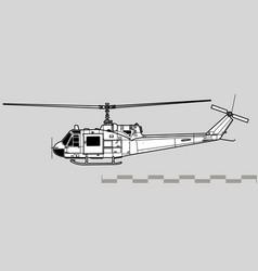 Bell uh-1 iroquois vector