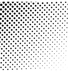 black and white halftone pattern modern texture vector image