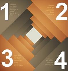 Creative template design infograph vector