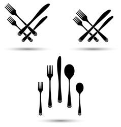 Cutlery position vector