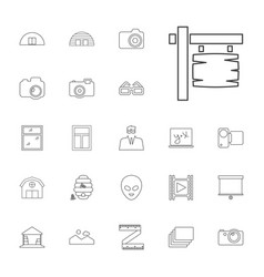 Frame icons vector