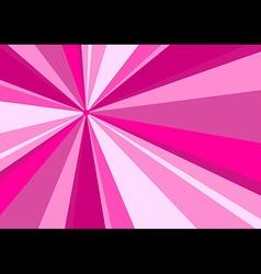 rays radius background pink vector image