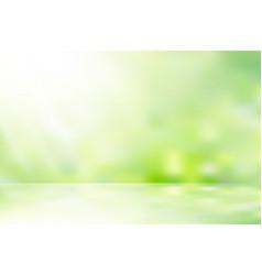 Sunlight nature background vector