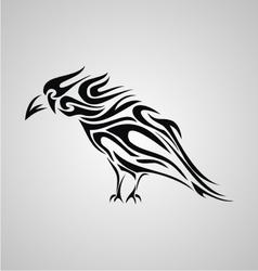 Tribal Crows vector