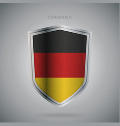 europe flags series germany modern icon vector image vector image