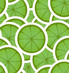 Green lime seamless background vector image