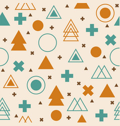 abstract tribal background colorful geometric vector image