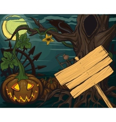 halloween pumpkin jack o lanterns vector image