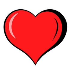heart icon icon cartoon vector image