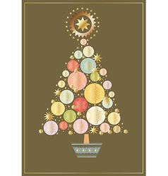 starry-tree vector image vector image