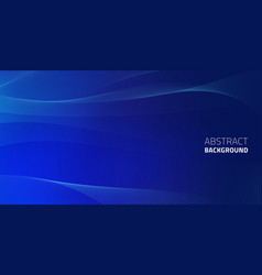 3d abstract dark blue background with dots vector image
