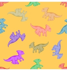 funny and hilarious dinosaur vector image