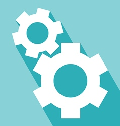 Gear or cog icons vector image