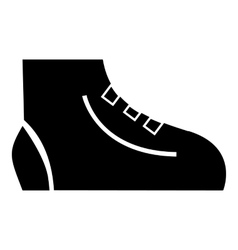 Men sport sneakers icon simple style vector image