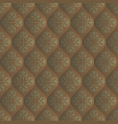 Quilted texture vector