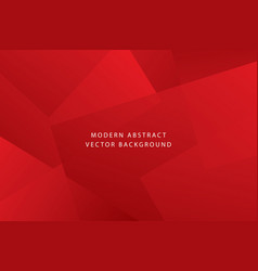 red modern dynamic background vector image