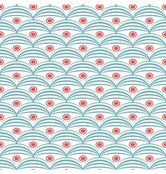 Seamless abstract geometric pattern retro vector