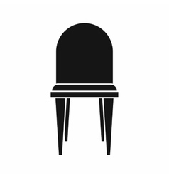 Chair icon simple style vector image vector image