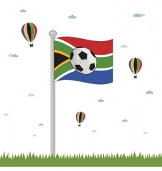 south Africa world cup vector image